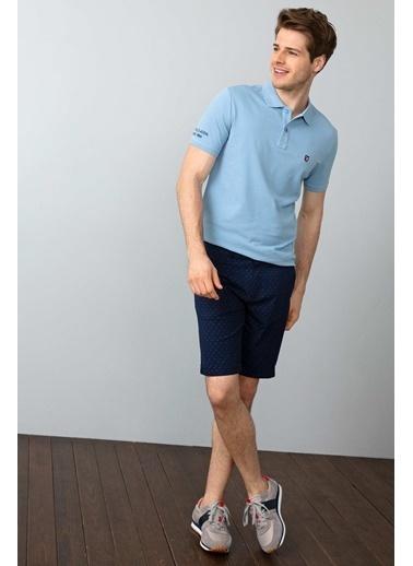 U.S. Polo Assn. Slim Fit Polo Yaka Tişört Mavi
